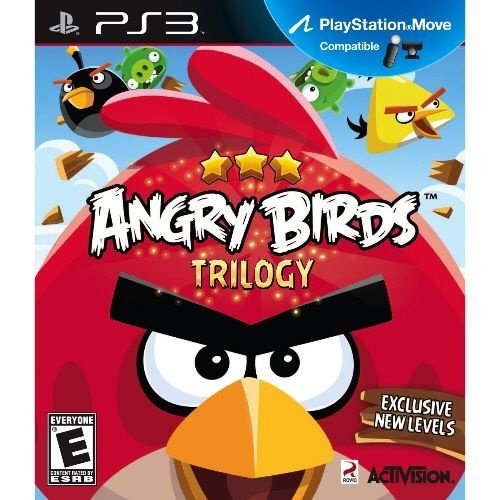 PS3 Angry Birds - Trilogy (usado)