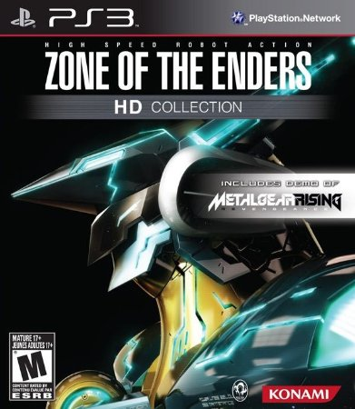 PS3  Zone of The Enders - HD Collection (usado)