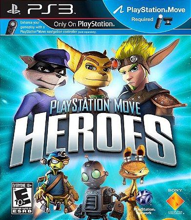 Playstation Move Heroes - PS3 (usado)