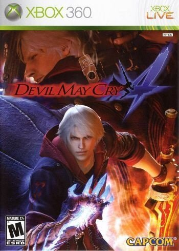 Devil May Cry 4 - Xbox 360 (usado)