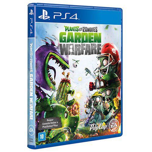 Plants Vs Zombies: Garden Warfare - PS4 (usado)