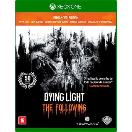 Dying Light: The Following Enhanced Edition - Xbox One (usado)