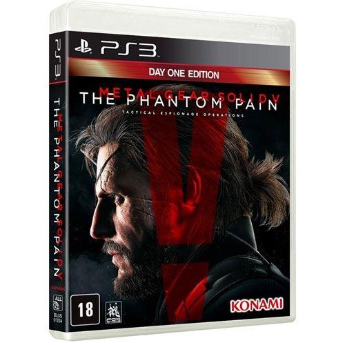 Metal Gear Solid V: The Phantom Pain - PS3 (usado)