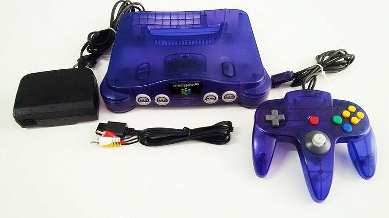 Nintendo 64 Console Uva (usado)