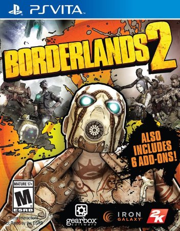 PSV Borderlands 2 (usado)