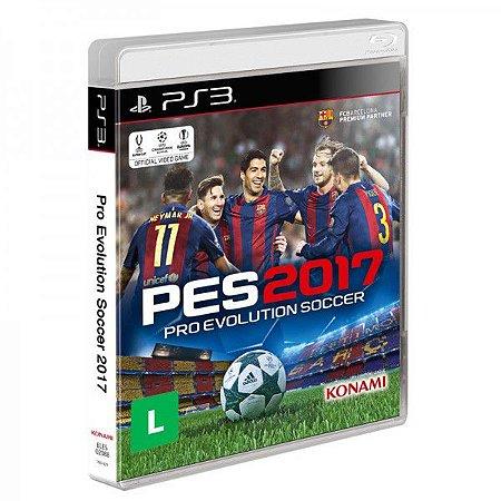 PES 2017: Pro Evolution soccer - PS3