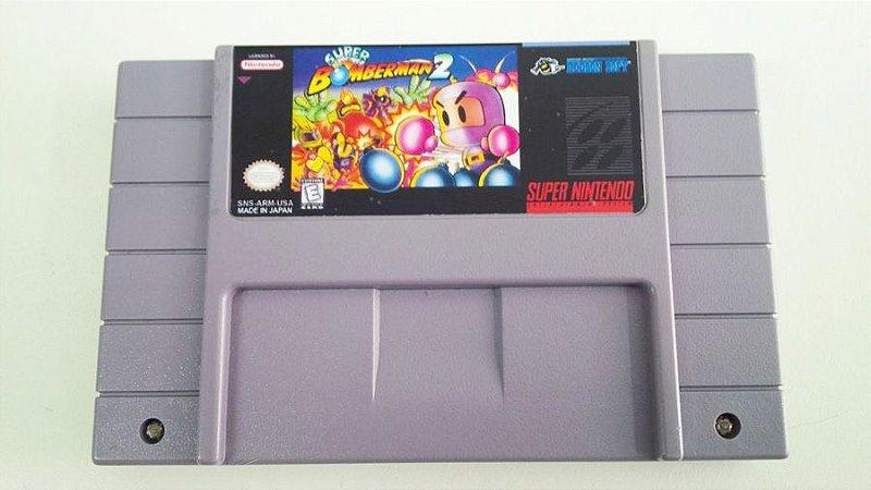 SNES Super Bomberman 2 (usado)