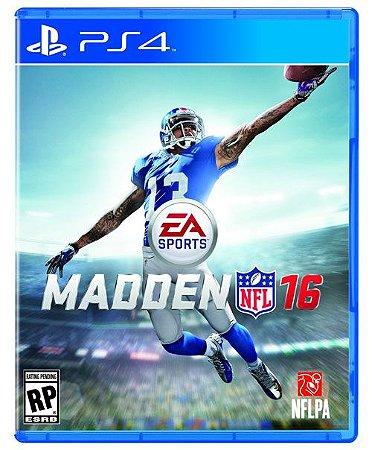 PS4 Madden NFL 16 (usado)