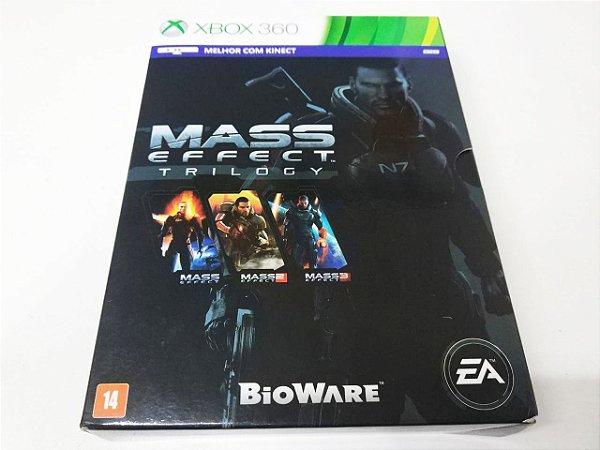 Mass Effect: Trilogy - Xbox 360 (usado)
