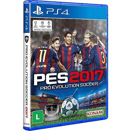 PES 2017: Pro Evolution Soccer - PS4 (usado)