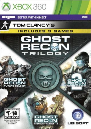 Ghost Recon Trilogy - Xbox 360 (usado)