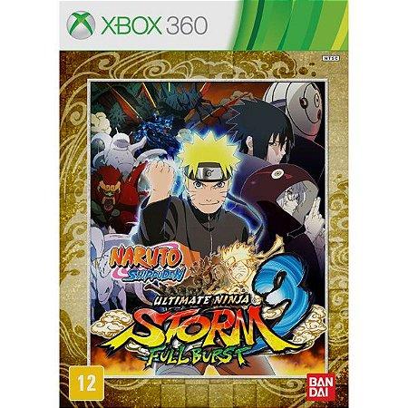 Naruto Ultimate Ninja Storm 3: Full Burst - Xbox 360