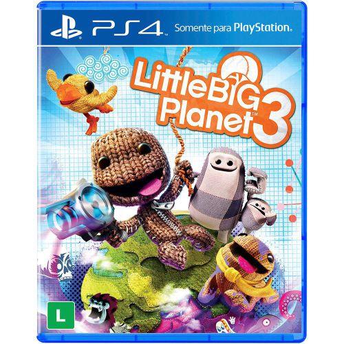 Little Big Planet 3 - PS4 (usado)