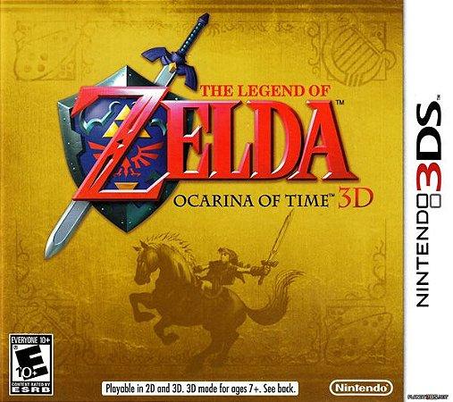 The Legend of Zelda: Ocarina of Time 3D - 3DS (usado)