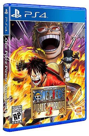 PS4 One Piece - Pirate Warriors 3 (usado)