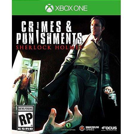 XONE Crimes & Punishments - Sherlock Holmes (usado)