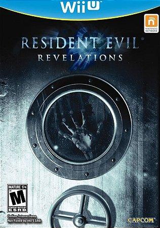 Wii U Resident Evil Revelations (usado)