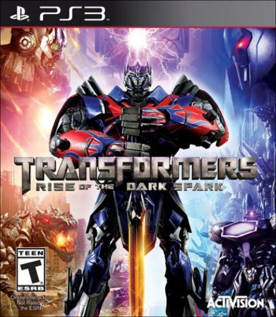 PS3 Transformers - Rise of The Dark Spark (usado)