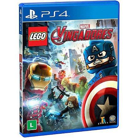 Lego Marvel Vingadores - PS4 (usado)