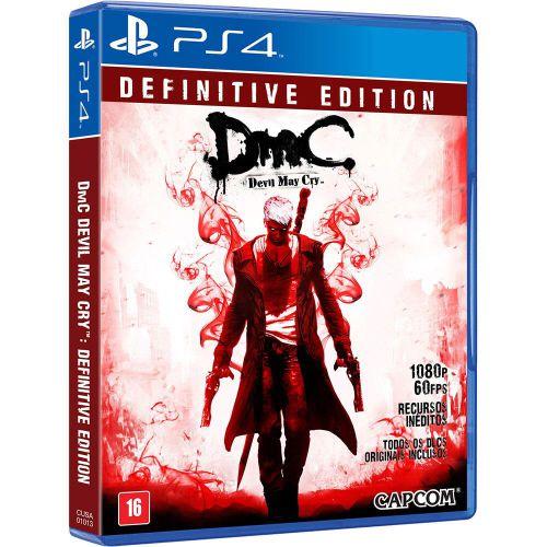 DMC: Devil May Cry Definiteve Edition - PS4