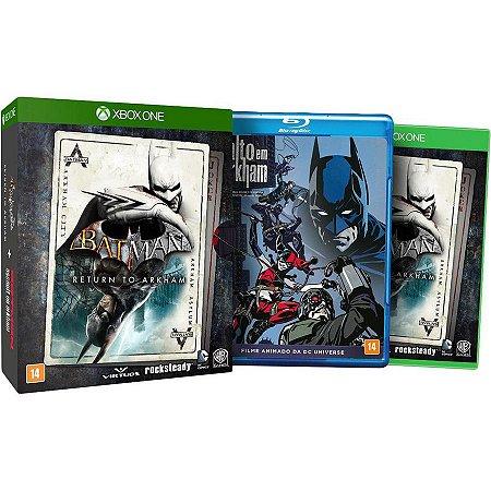 XONE Batman Return to Arkham Combo