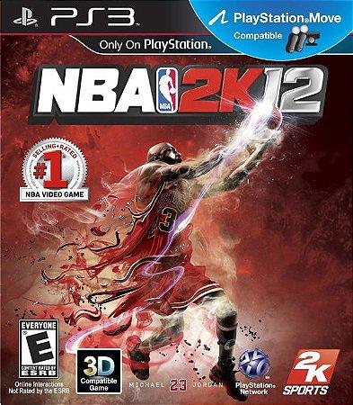 NBA 2K12 - PS3 (usado)