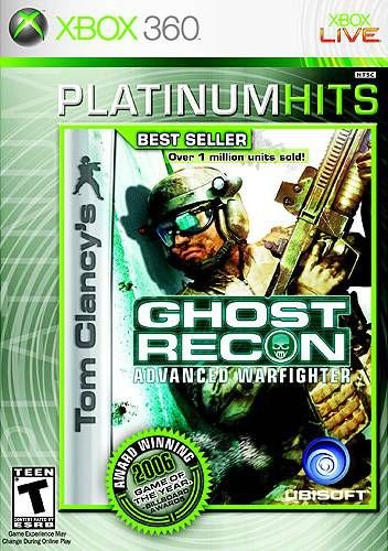 X360 Ghost Recon - Advanced Warfighter (usado)