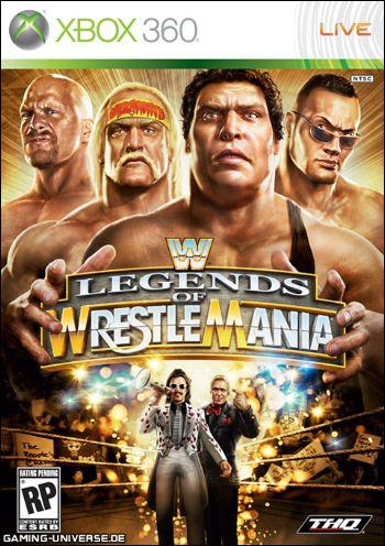 X360 WWE Legends of Wrestlemania (usado)
