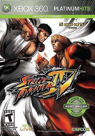 X360 Street Fighter IV (usado)