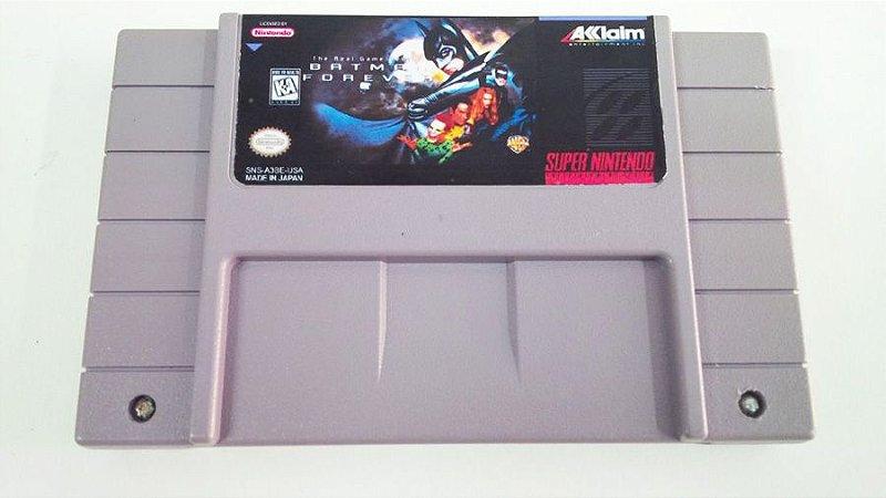 SNES Batman Forever (usado)