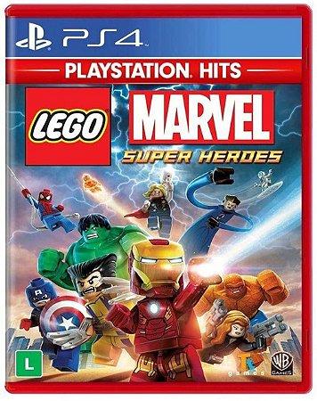 Lego Marvel Super Heroes Hits - PS4 (usado)