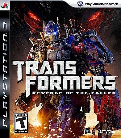 PS3 Transformers - Revenge of The Fallen (usado)