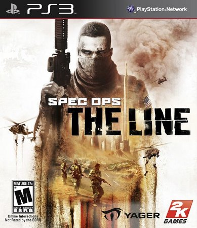 PS3 Spec Ops - The Line (usado)
