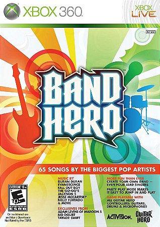 X360 Band Hero (usado)