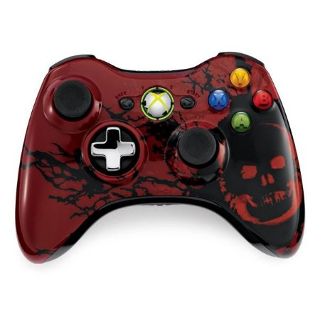 Controle Xbox 360 Gears of War 3 Wireless (sem embalagem)