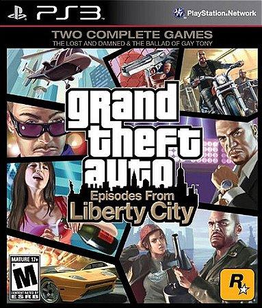 GTA: Episodes Fron Liberty City - PS3 (usado)