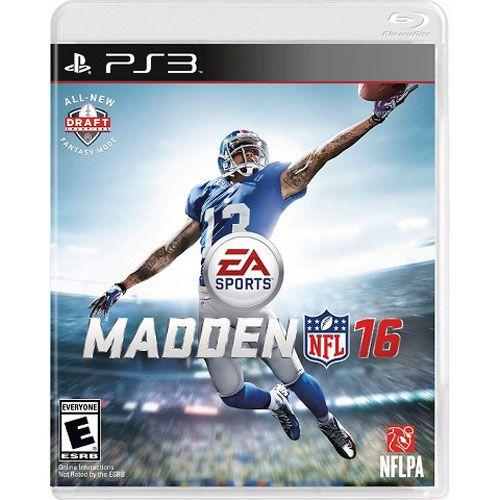 PS3 Madden NFL 16 (usado)