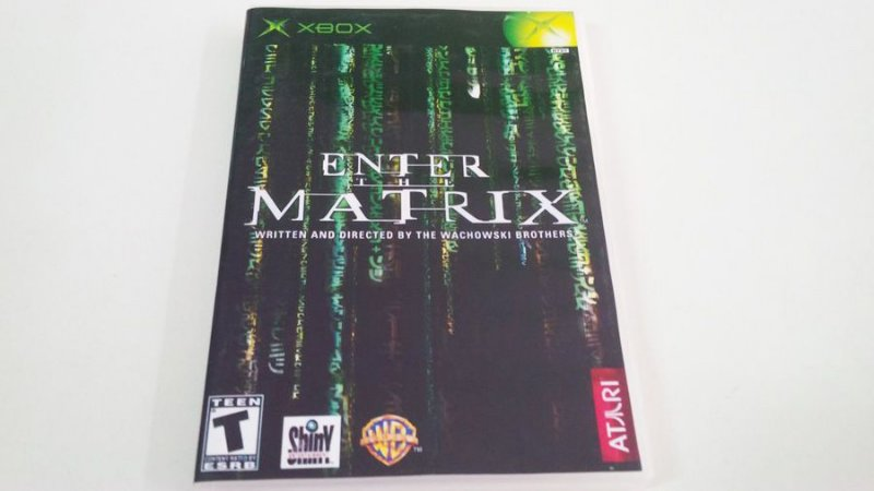 Enter The Matrix - Xbox (usado)