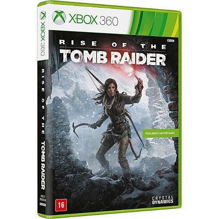 Rise of The Tomb Raider - Xbox 360 (usado)