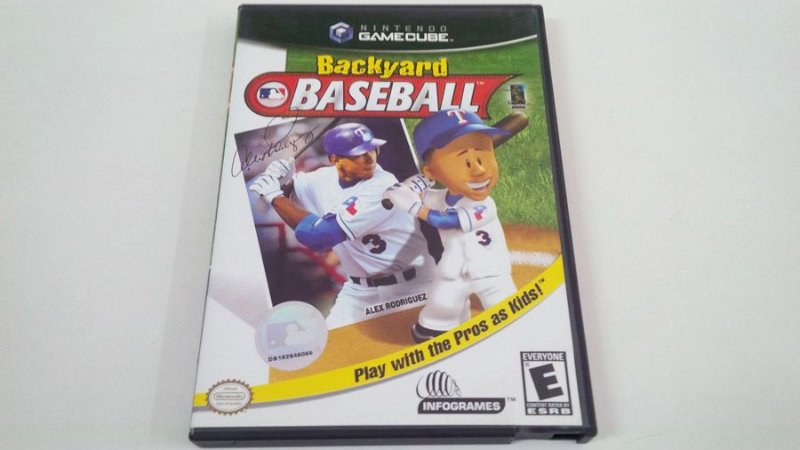 Backyard Baseball - Gamecube (usado)