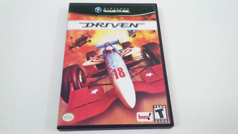 Driven - Gamecube (usado)