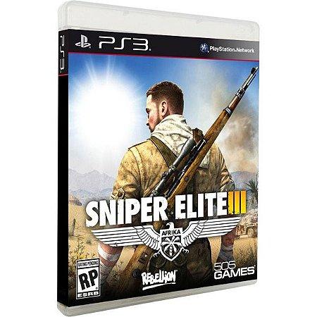 PS3 Sniper Elite 3 (usado)