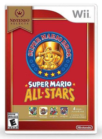 Wii Super Mario All Stars (usado)