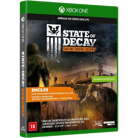 State of Decay: Year-One Survival Edition - Xbox One (usado)