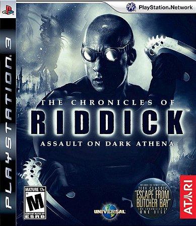 The Chronicles of Riddick: Assault On Dark Athena - PS3 (usado)