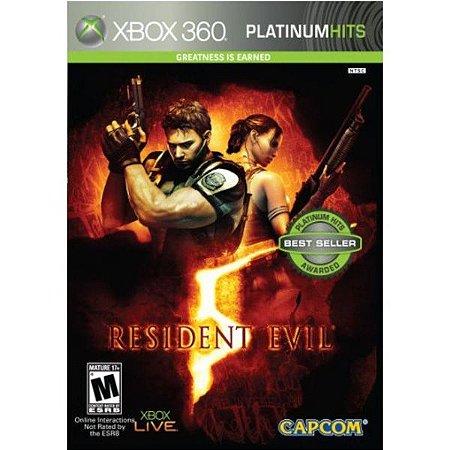 X360 Resident Evil 5 (usado)