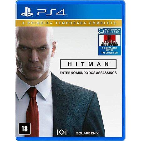 PS4 Hitman - Primeira Temporada Completa