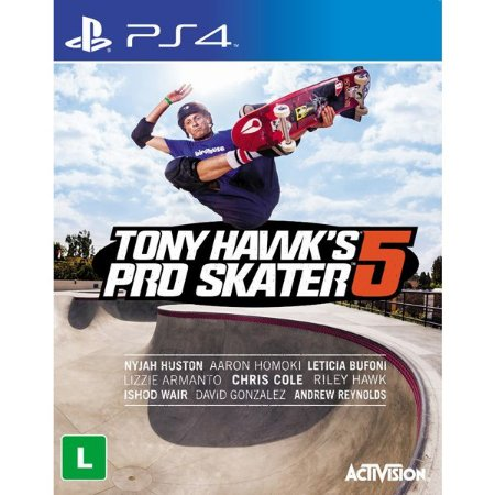 PS4 Tony Hawk´s Pro Skater 5