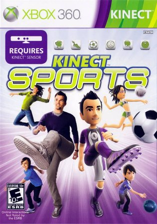 Kinect Sports - Xbox 360 (usado)