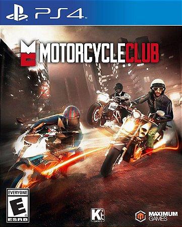 PS4 Motorcycle Club (usado)